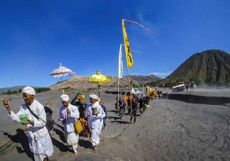 mount Bromo ceremony